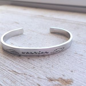 Jewelry - Warrior Bracelet - fighter mantra